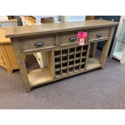 DISTRESSED Deluxe Wine Console