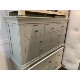 GREY PAINTED 3 Over 4 Chest