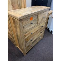 MANGO WOOD 2 OVER 3 CHEST
