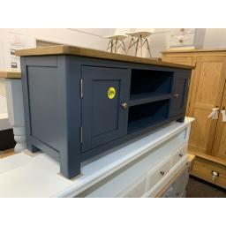 BLUE Large TV Unit - Up to 57''