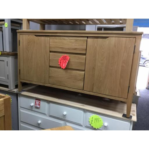 OAK SIDEBOARD!