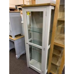 STONE Grey Display Cabinet