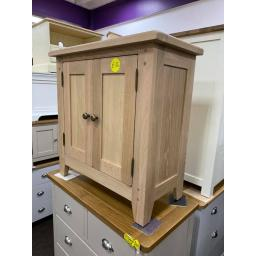 natural Real OAK Small Cupboard