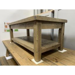 Reclaimed Solid Pine Coffee Table / Fully Assembled