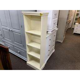 PAINTED Extra Narrow Bookcase (5ft)