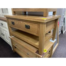 PETITE OAK Coffee Table with Drawer