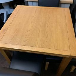 90cm-155cm Ext Table with 4 chairs!!