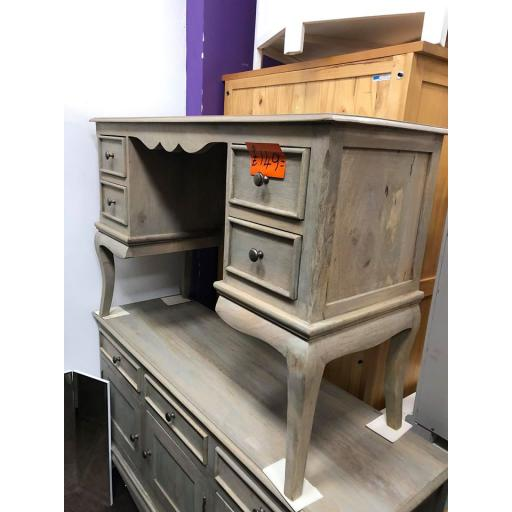 Grey Painted Mango Wood Dressing Table