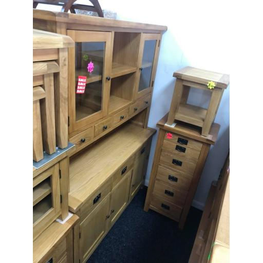 Real Oak Display Dresser
