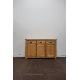 Range 10 - Oak 3 Drawer 3 Door Sideboard 1.jpg