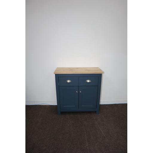 Hadley 2 Door 2 Drawer Sideboard Aqua Blue