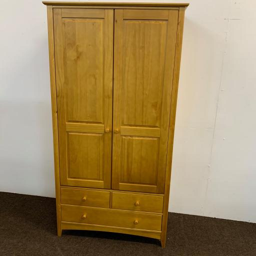 Julian Bowen Kendal 2 Door Combination Wardrobe Furniture