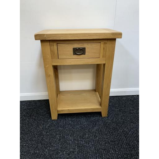 Real Oak Telephone Table/ Lamp Table