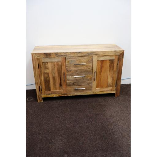 Cuba Petite Mango 2 Door 3 Drawer Sideboard
