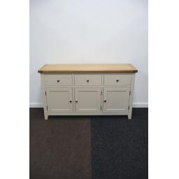 Light grey 3 door 3 drawer sideboard 1.jpg