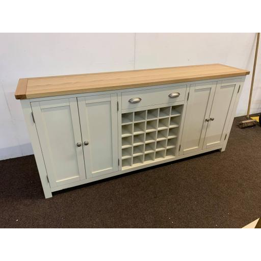 Extra Large Sideboard with Wine Rack