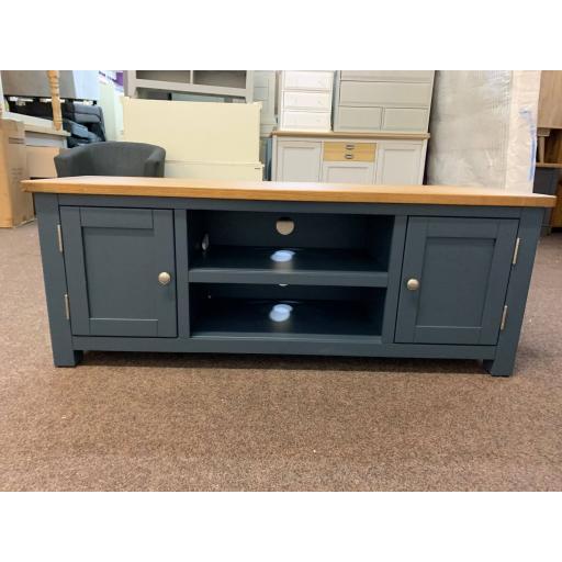 Blue Large TV Unit - Up to 60
