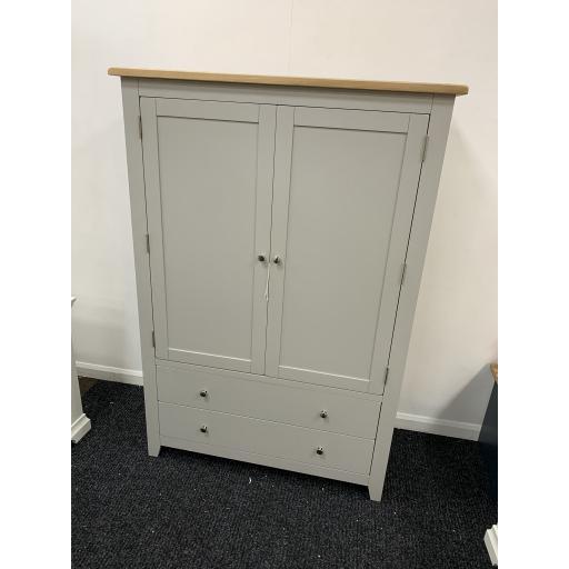 Grey Grand Storage Cupboard / Larder Cupboard