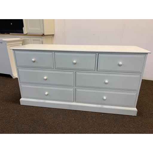 Warm White 3 Over 4 Chest of Drawers