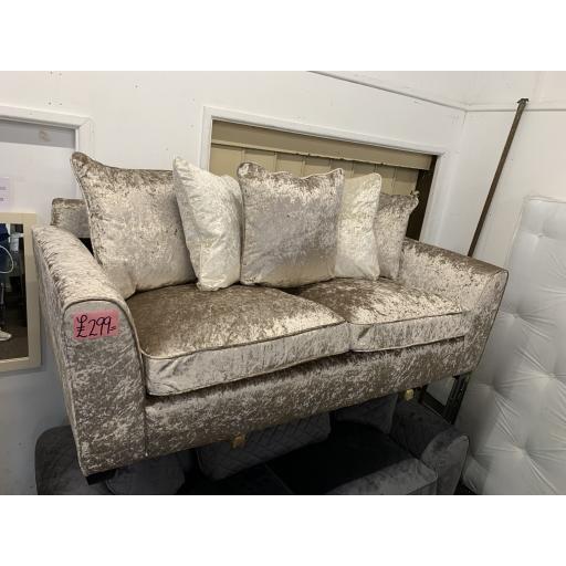Champagne 3 seater sofa