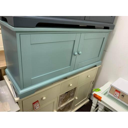 Light Blue Shoe Storage