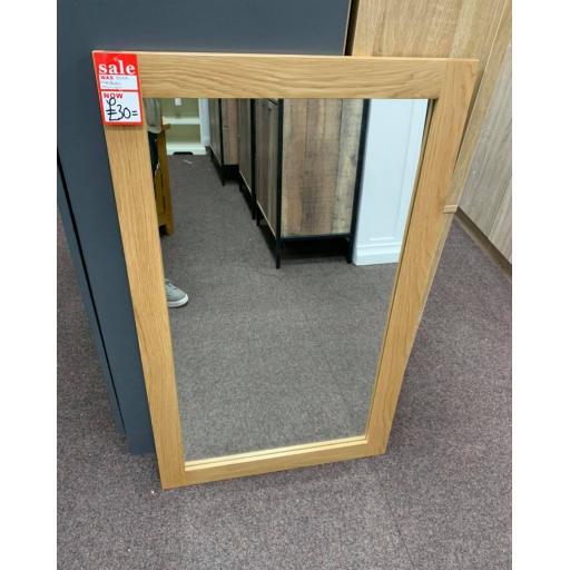 Natural Oak Mirror