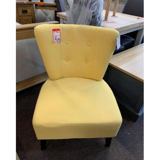 Lemon upholstery Chair